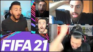 MIRZA kann es nicht fassen   OMED trifft das Tor nicht   MOCKI raged   FIFA 21 Highlights Deutsch