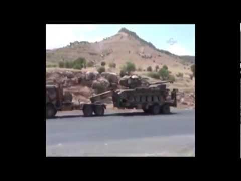 BBC Turkish troops invade Syria Tonight 08.07.2012