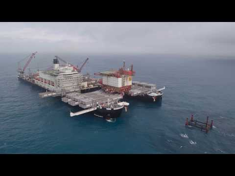 Pioneering Spirit Removes Valhall Accommodation Platform Topside