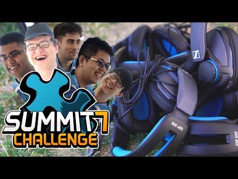 Summit 7 Challenge - Sennheiser Monitor Toss with NP