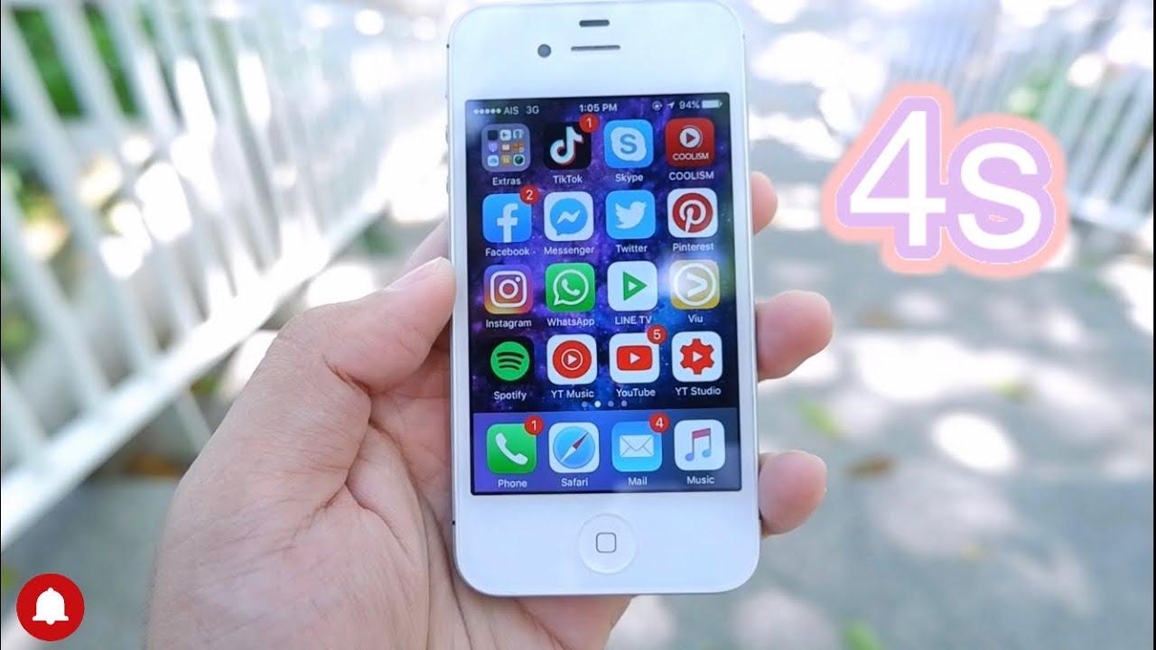 รีวิว iPhone 4s ใช้งานจริงในปี 2020