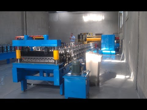 Corrugated Sheet Roll Forming Machine, Believe Industry for South Africa Market