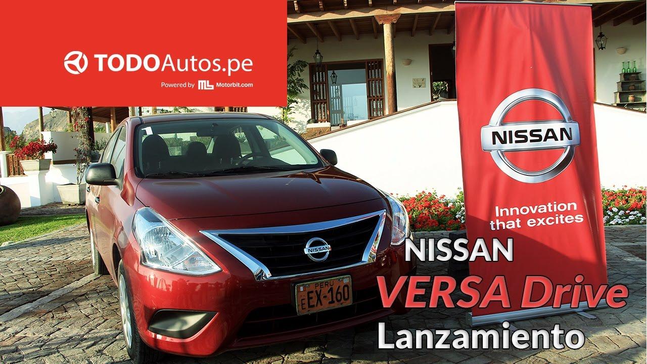 Nuevo Nissan Versa Drive 2017 | TODOAutos.pe - YouTube