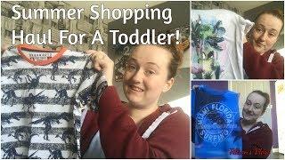 Shopping Spree Vlog, Summer Clothes Haul, 3rd Birthday Presents - Tillson's Vlogs