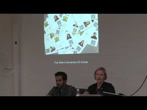 Port Journey Meeting 2016 - Silent University by Krasomil and Zater, Hamburg