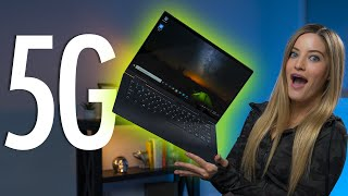 The FIRST 5G Laptop! Lenovo Flex 5G