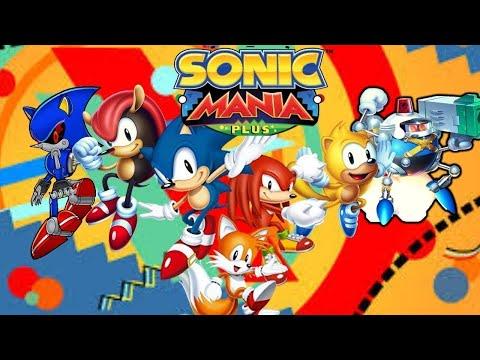 Sonic Mania Studiopolis Encore DLC  