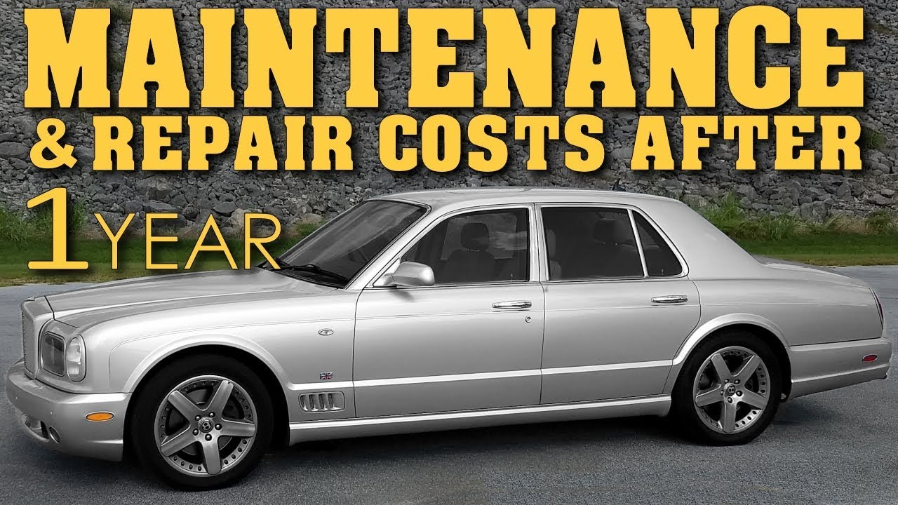 Bentley repair costs