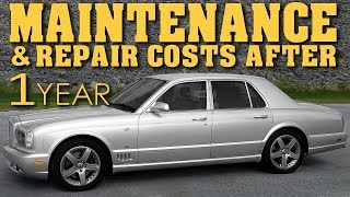 Ownership Costs After 1 Year | Owning A Bentley Arnage - Video 15
