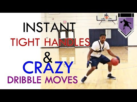 Get Tighter Faster Handles - Dribbling Drill With Crazy  Crossover Combos