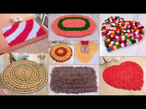 8 Beautiful Doormat Ideas !!! DIY Handmade Things