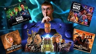 Big Finish Doctor Who New Series Announcements!