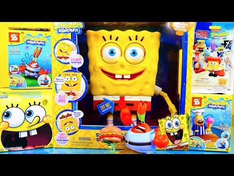 Spongebob Squarepants Toys Videos MEGA Spongebuddy Surprise Blind Boxes Disney Cars Toy Club