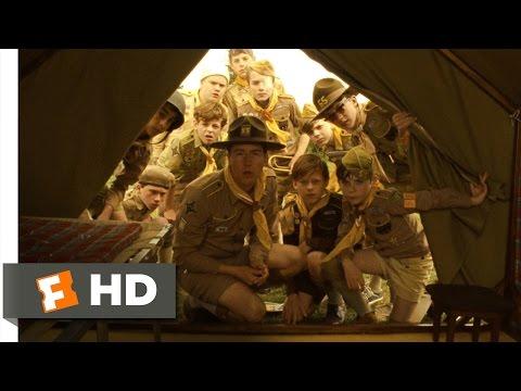 Moonrise Kingdom 110 Movie CLIP  Camp Ivanhoe 2012 HD