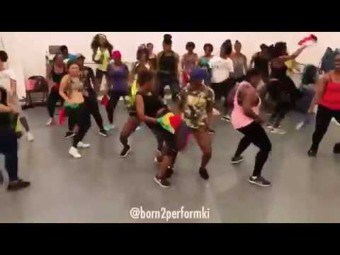 Problem Child- Never Bow (Official Soca Dance Choreography by Kiara)