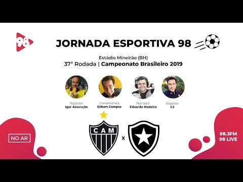 ATLÉTICO-MG X BOTAFOGO | BRASILEIRÃO | RÁDIO 98FM AO VIVO