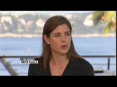 Charlotte Casiraghi - First Interview - Stade2