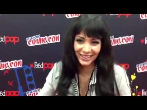 Ksenia Solo interview with ReW & WhO (NYCC 2012)