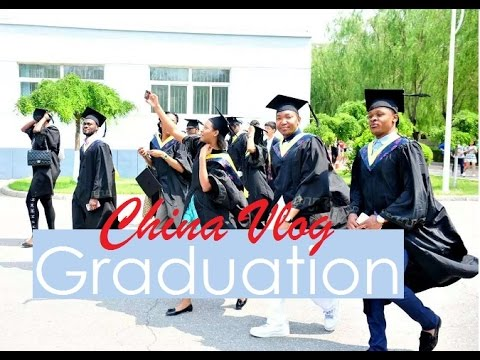 University graduation vlog || CHINA VLOG