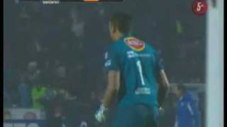 Monterrey vs Cruz Azul  4 - 3  Final Ida Apertura 2009 Highlights HD Televisa Deportes