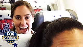 The USWNT has a long-standing, adorable bus ride superstition | FOX SOCCER