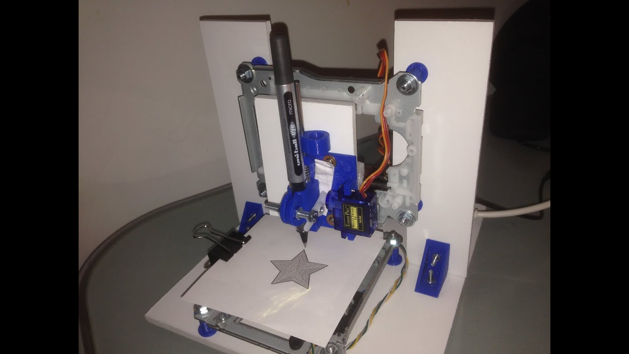 Arduino mini cnc machine plotter from old dvd drives youtube