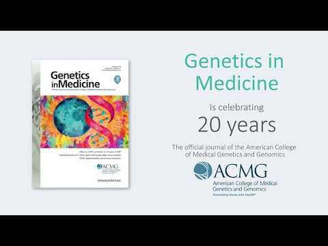 Genetics in Medicine celebrates 20 years of publication