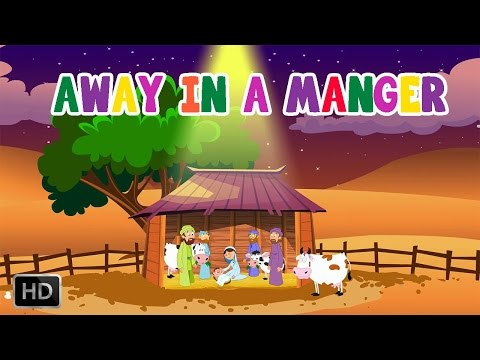 Away in a Manger Christmas Carol