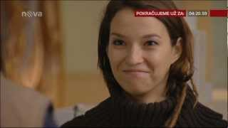 Lišta odpočítávání času do konce reklamního bloku - TV Nova - 15.1.2013