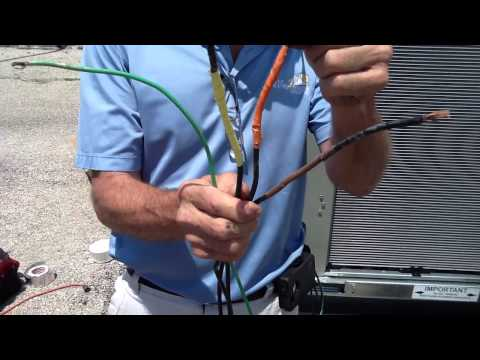 How to Hookup 460 / 3 Phase Power (Air Conditioning)