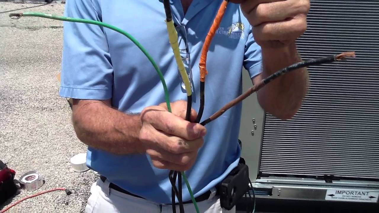 How To Hookup 460 3 Phase Power (air Conditioning) Youtube