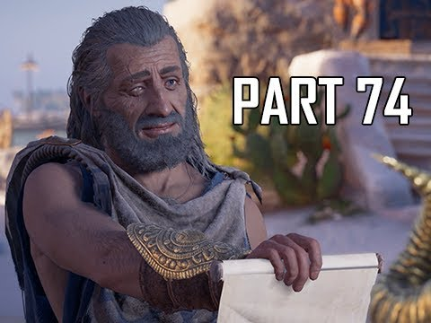 ASSASSIN'S CREED ODYSSEY Walkthrough Part 74 - Silver Mine (Let's Play Commentary)