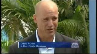 Sunshine Coast - Kmart Wishing Tree Appeal 2010 with former Wallaby Chris Handy