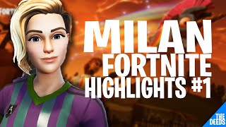 Secret Milan Fortnite Highlights #1 | Pro Fortnite Player *MILAN DESTROYS MITR0*