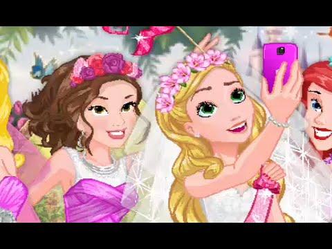 princesas disney ~ despedida de soltera de rapunzel ~ juegos de