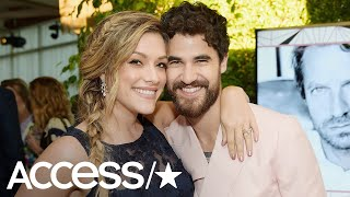 Darren Criss Marries Longtime Girlfriend Mia Swier | Access
