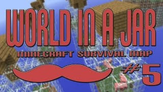 World in Jar #5 - Robimy wjazd na chate  [Minecraft Survival Map PL]