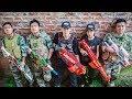 LTT Game Nerf War : Special Police Winter Warriors SEAL X Nerf Guns Fight Criminal Group