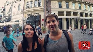 Ep. 38: Audrey's worried about getting ROBBED! Bucharest, Romania Travel Guide