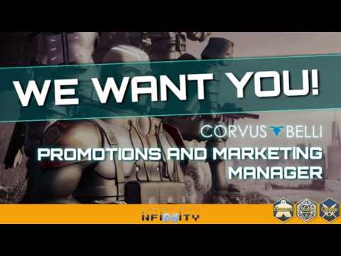 Corvus Belli IS HIRING!
