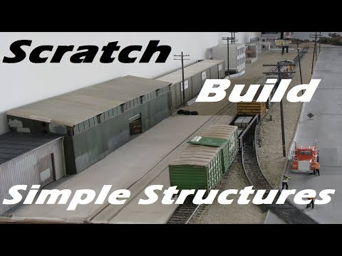 Scratch build 101: Styrene Structures (Video Pictorial in HD)