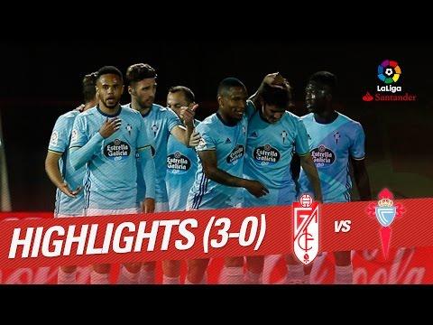 Resumen de Granada CF vs Celta de Vigo (0-3)