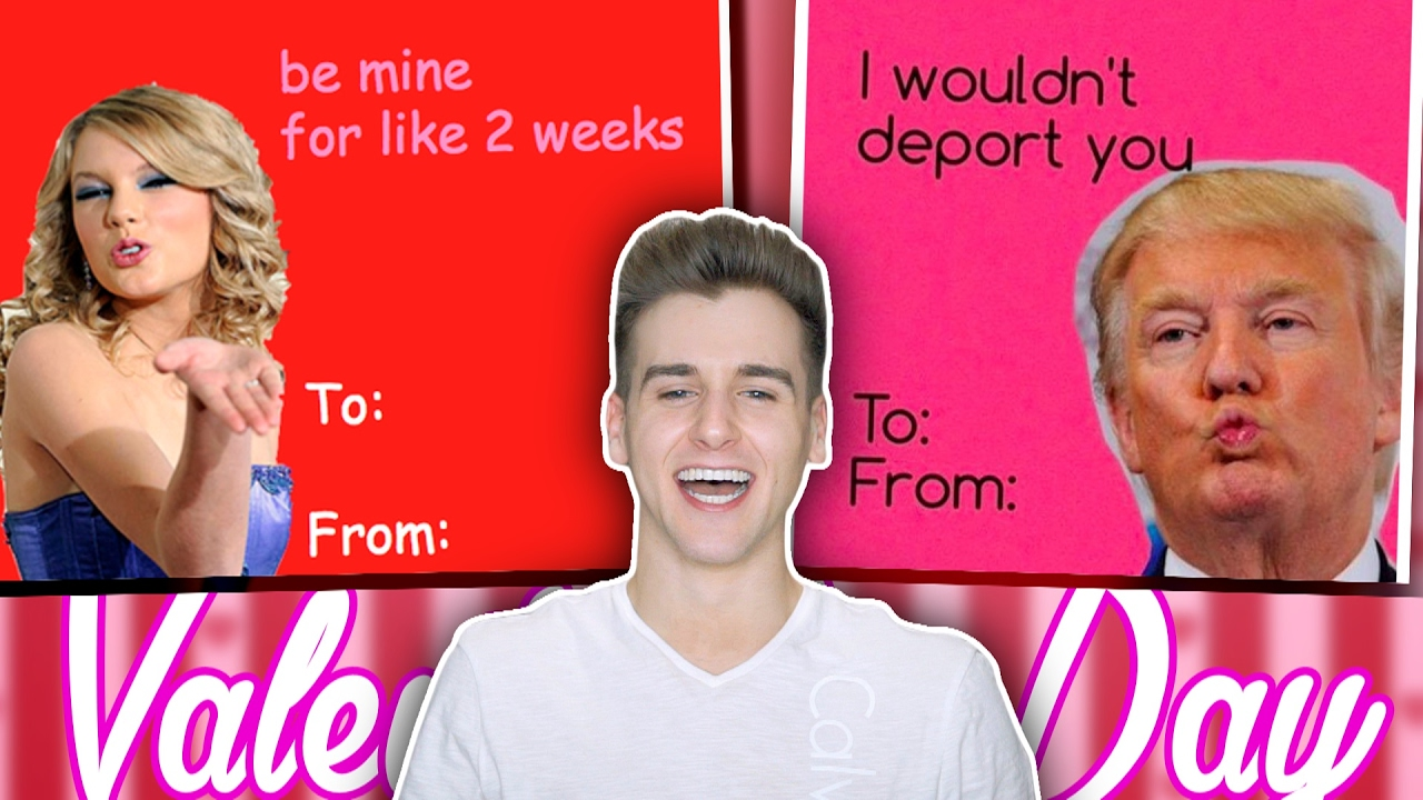 Funniest Valentines Day Cards YouTube – Funny to and from Valentines Day Cards