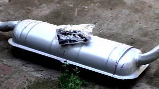 Как заменить глушитель ВАЗ