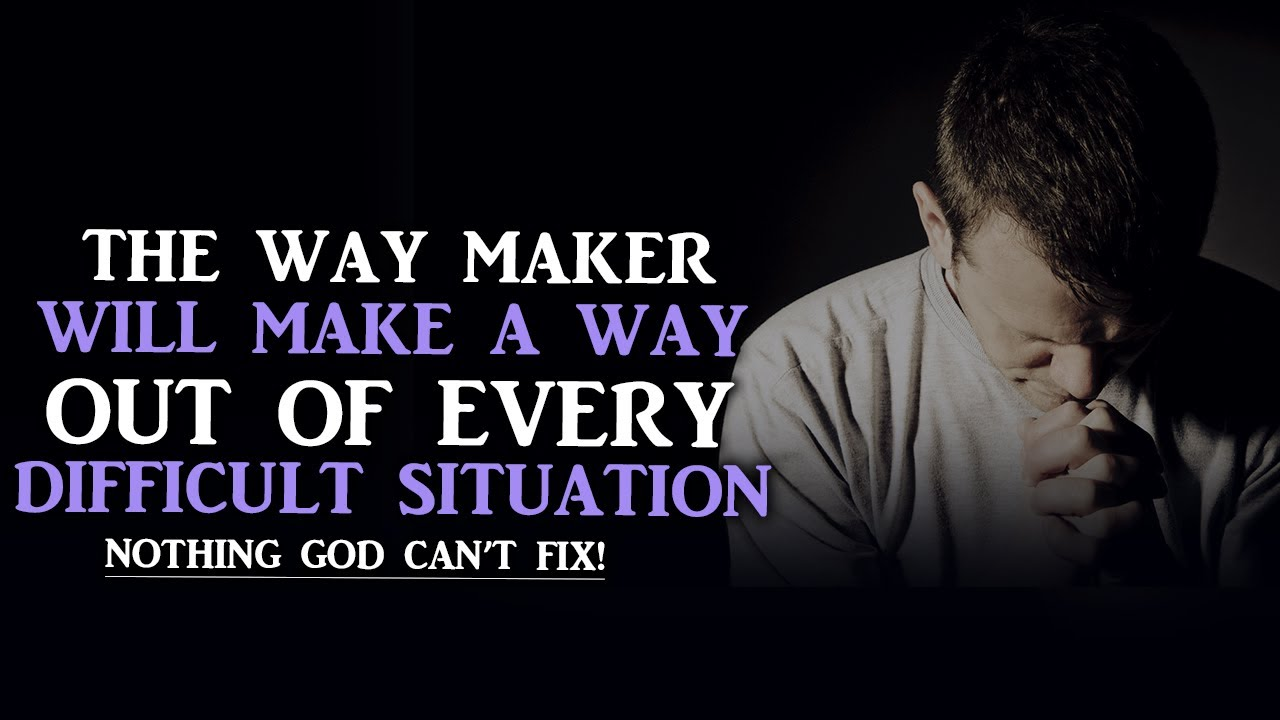 GOD WILL BRING YOU OUT OF EVERY DIFFICULTY GET READY FOR A NEW SEASON - BEST MOTIVATIONAL VIDEO