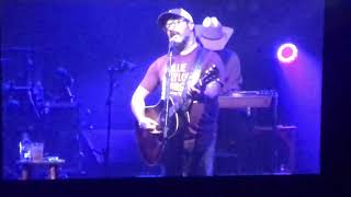 "Aaron Lewis 8/18 2018 ""Right Here"" new Country Version Choctaw Durant OK"