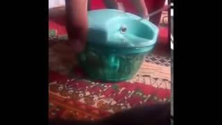 Pigeon New Handy Chopper with 3 Blades, Green UNBOXING and Hands On In Hindi..