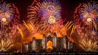 Dubai Atlantis Fireworks World Record 2014