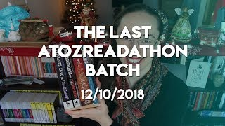 The Last #AtoZReadathon Batch of Books   2018