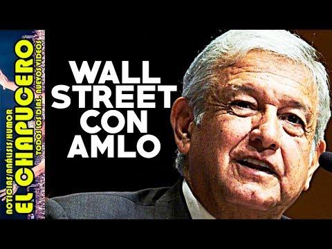 BANQUEROS DE WALL STREET LES CAYÓ EL VEINTE QUE AMLO GANARÁ